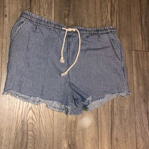 Wild fable striped shorts